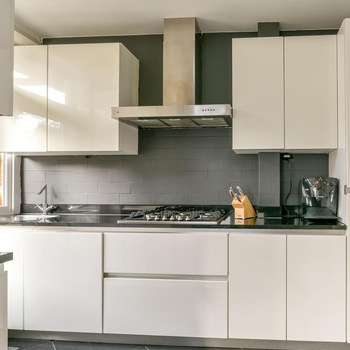 Acrylic Sheets Full Assembled Modular Kitchen Cabinet For .