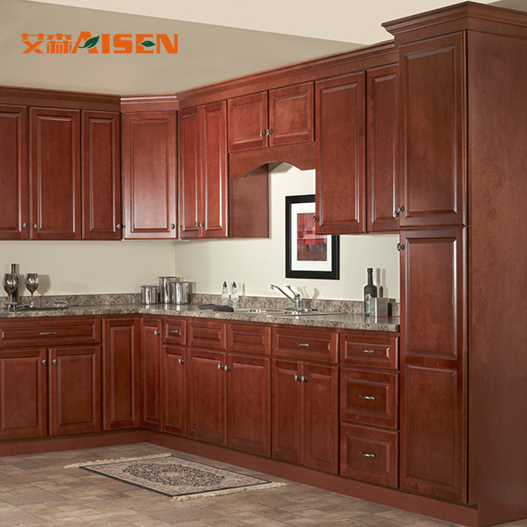 Imported Modular Kitchen Cabinets with Wooden Kitchen Cabinet Door .