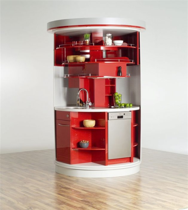 10 Compact Kitchen Designs for Very Small Spac