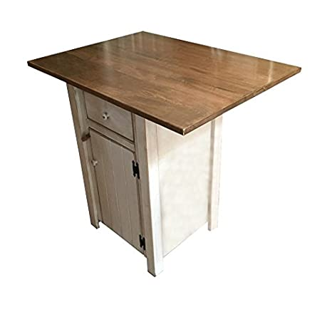 Amazon.com - Small Kitchen Island - Counter Height - Amish Made in .