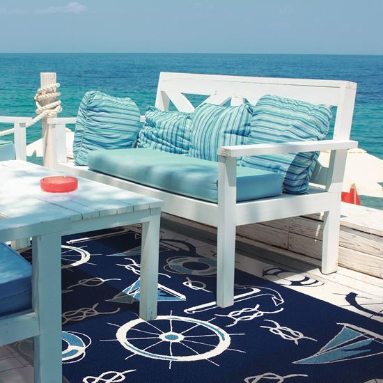 Homefires| Wholesaler of Beautiful Home Decor Rugs. Blue & White .