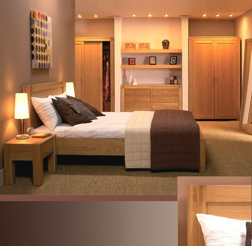 contemporary oak bedroom furniture (With images) | Oak bedroom .