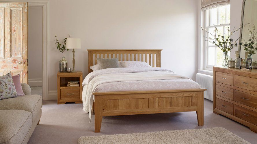 Oak Bedroom Furniture | Beds, Dressing Tables, Chest of Drawers .