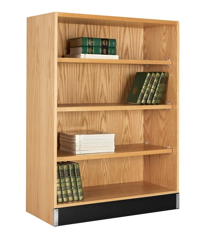 Diversified Woodcrafts Open Shelf Storage Material: Red Oak .