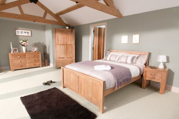 Oakdale Solid Oak Furniture Range Oak Bedroom Furniture Collection .