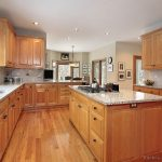 Pictures of Kitchens - Traditional - Light Wood Kitchen Cabinets .