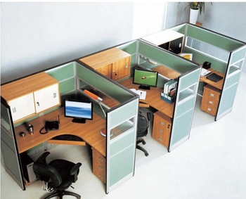 Functional Secretary Office Cubicles Designed For Small Working .