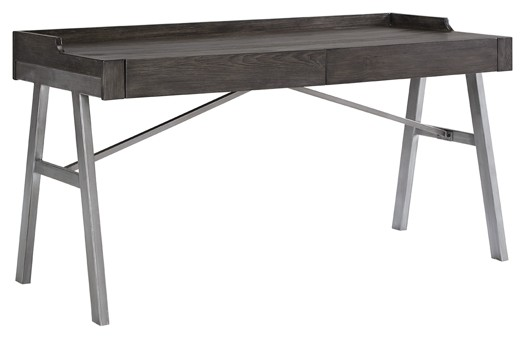 Raventown - Grayish Brown - Home Office Desk | H467-44 | Home .