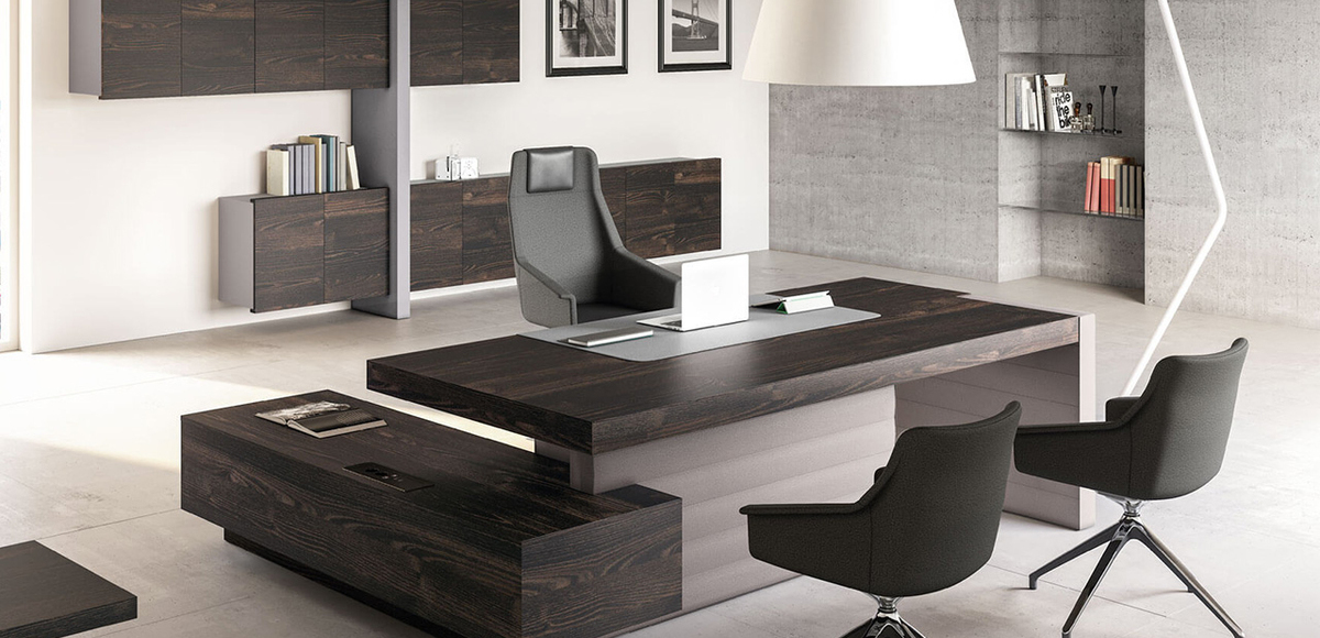 Las Mobili Jera awesome unique executive office desk, Orlandini desi