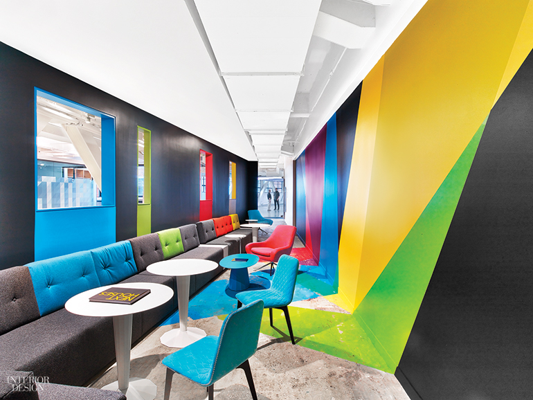 Google's NYC Office by Interior Architects Has Eye-Catching .
