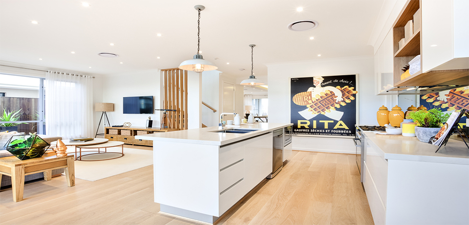 Open-plan kitchens: combining function and form   HomeBy