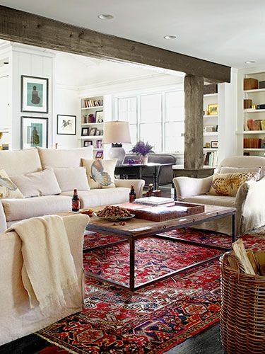 Inspiration Monday: Working with Oriental Rugs | Home living ro