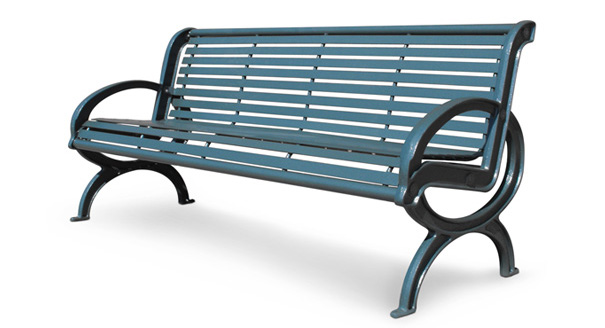 Parkview Classique Outdoor Bench | Metal | Park Benches | Belson .