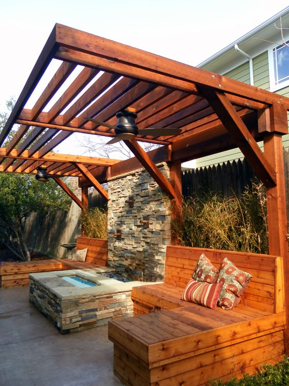 Outdoor Living Spaces For Small Backyards - Home Romant