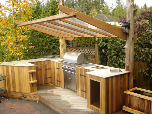How To Create A Deluxe Outdoor Kitch