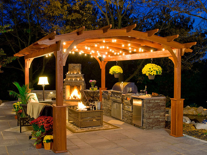5 Outdoor Kitchen Ideas for Yards Large & Small - All Terrain .