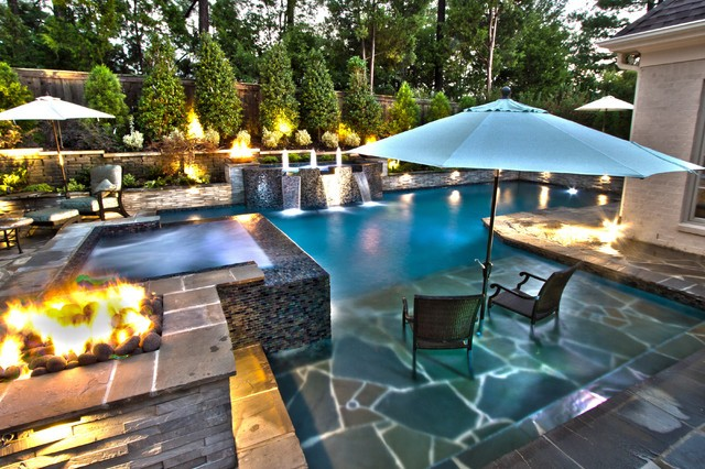 Design your outdoor living space: pool adjacent - Tipton Pools .