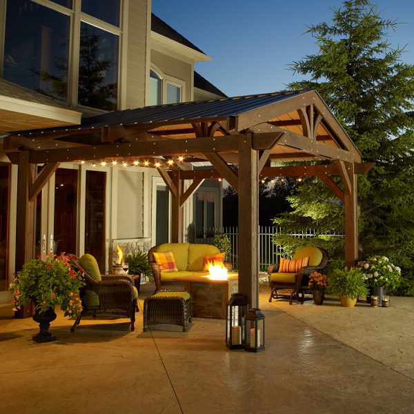 Today People Love Elaborate Outdoor Living Spac