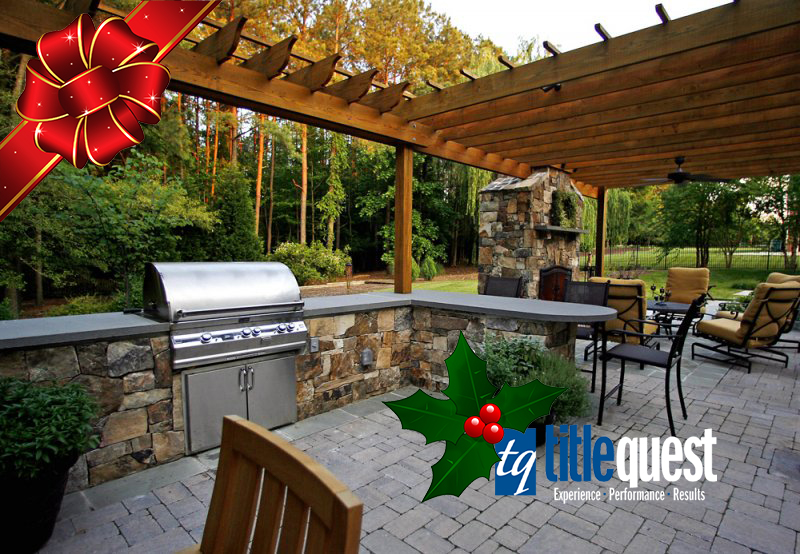 Outdoor Living Spaces, The Gift that keeps on Giving! - TitleQue