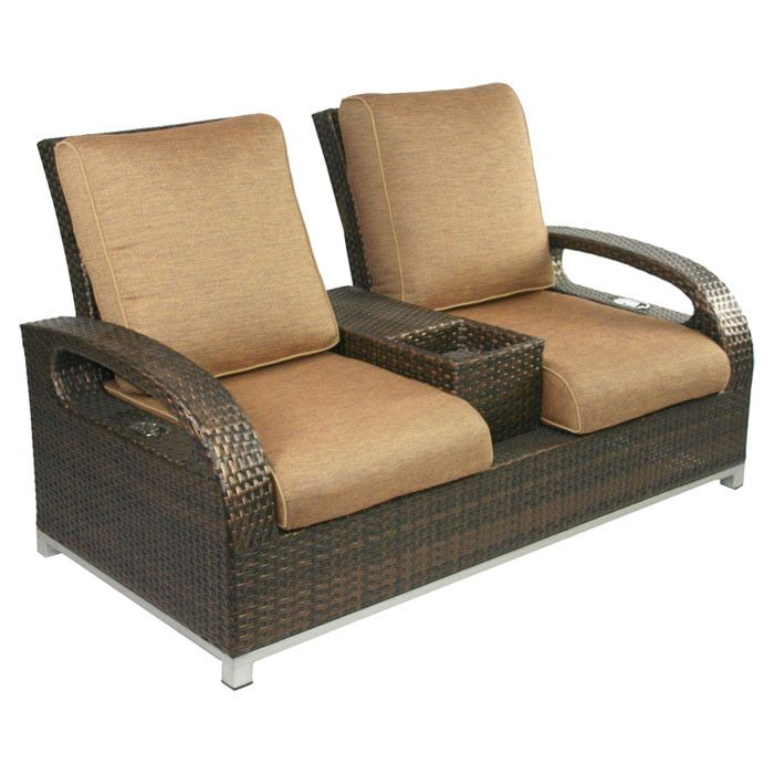 Digging this Reclining Loveseat | Love seat, Outdoor recliner .
