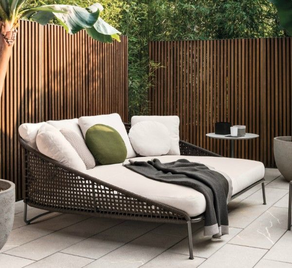Aston Cord Loveseat Dormeuse Outdoor | Outdoor loveseat, Outdoor .