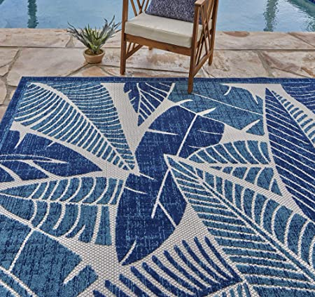 Amazon.com: Gertmenian 21624 Indoor Outdoor Rugs Patio Area Carpet .