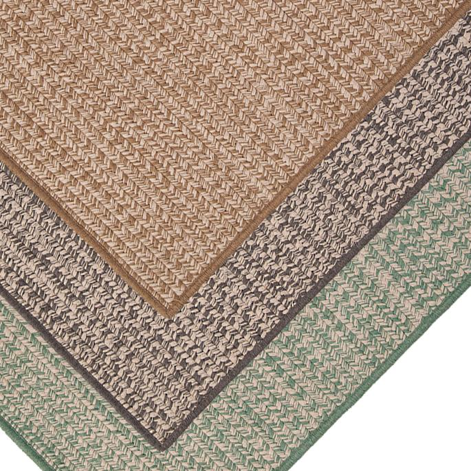 Sunbrella® Tweed Outdoor Rug | Frontga
