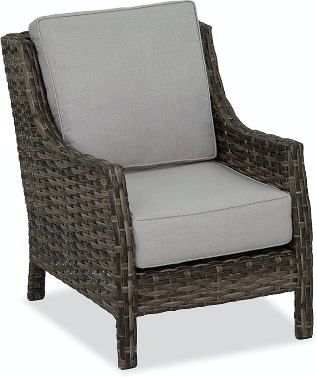 Outdoor/Patio Cabo Caribou Outdoor Wicker and Idol Seagull Cushion .