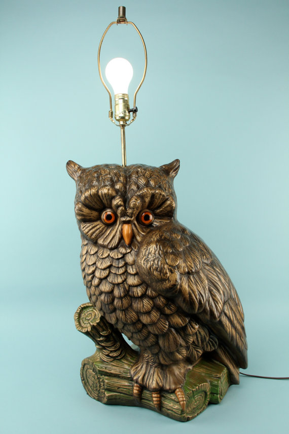 Antique owl lamp – Lighting and Ceiling Fa
