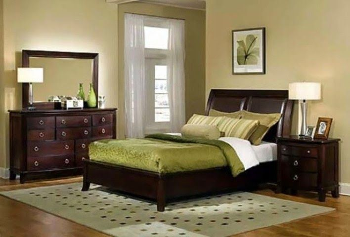 Bedroom Paint Colors With Dark Brown Furniture | Bedroom color .