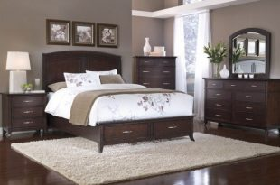 paint colors with dark wood furniture | Master bedroom colors .