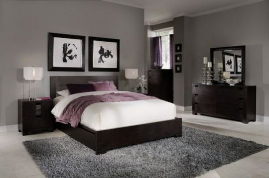 16 Master Bedroom Paint Colors with Dark Furniture Colour Schemes .