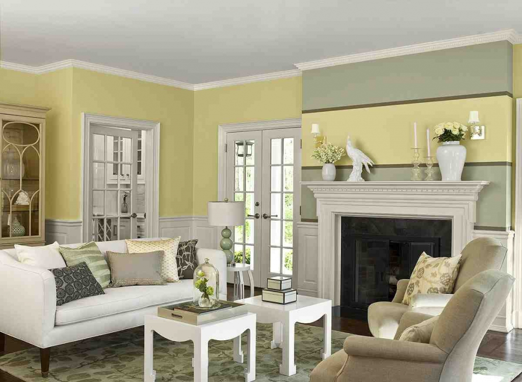 Living Room Paint Color Ideas Suggestion For On Sage Green Warms .