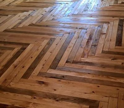 Pallet Flooring, Everything You Need To Know | Wood pallet .
