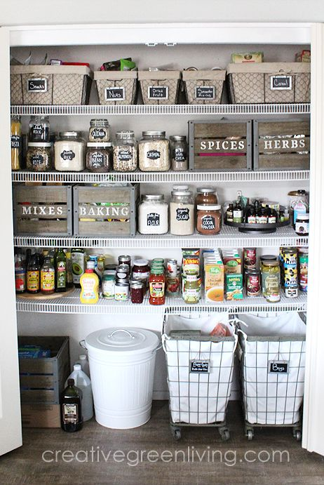 20 Clever Pantry Organization Ideas and Tricks - How to Organize a .