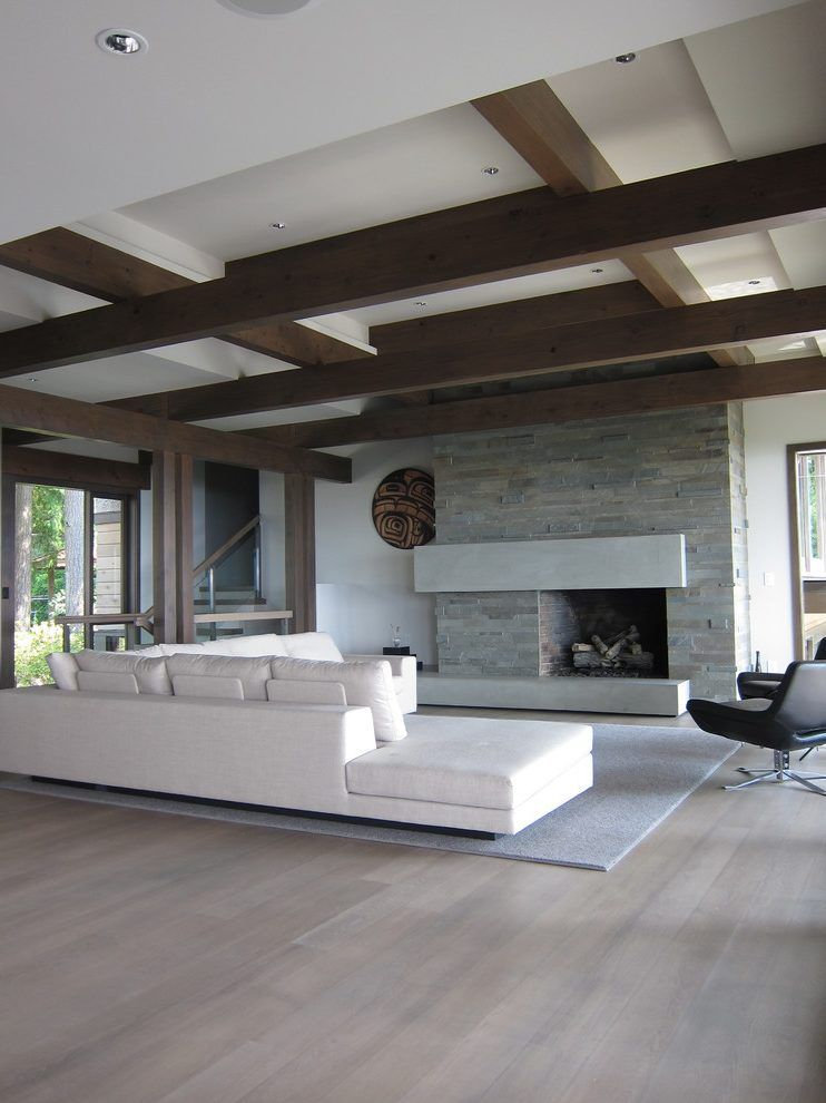 ebony stained red oak floors living room contemporary with .
