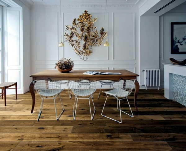Parquet flooring brings modern living style and warmth into your .