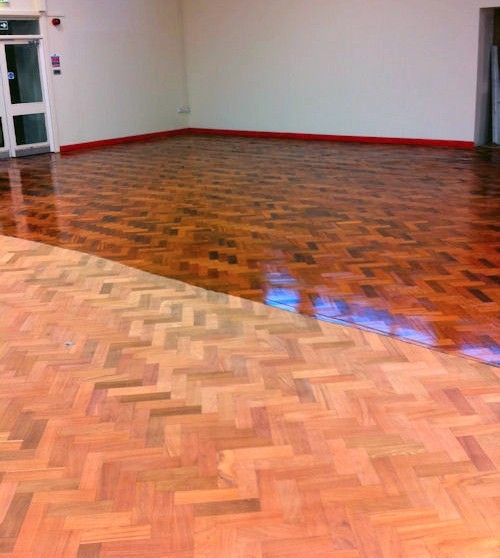 Refinishing parquet floors – ways to do this time-consuming .