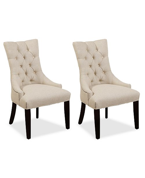 Furniture Marais Dining Parsons Chairs, Set of 2 & Reviews .