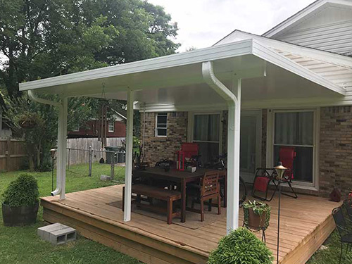 Custom-Built Patio Covers | Memphis | Maclin Security Doo