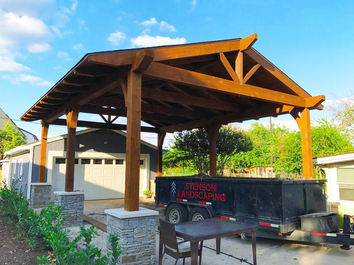 Dallas Patio Covers - Stenson Landscape & Irrigation, Inc. | Dall