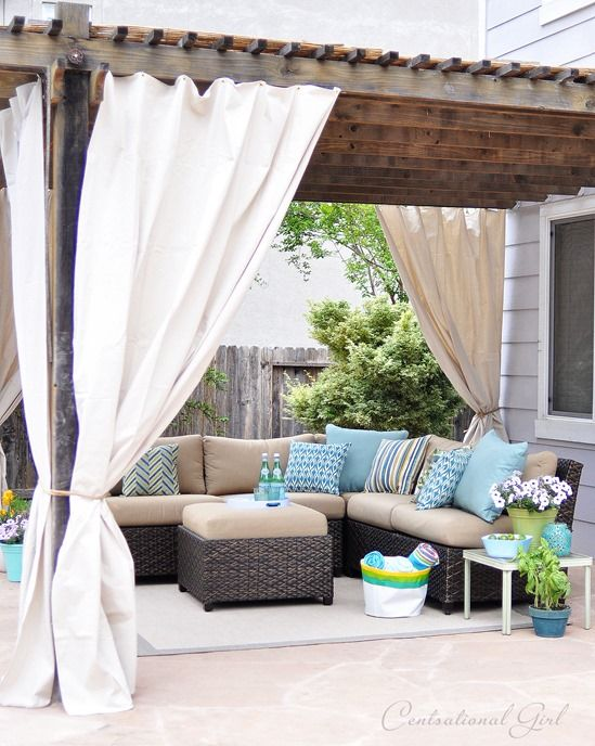 One Day Outdoor Room Makeover | Outdoor rooms, Patio makeover .
