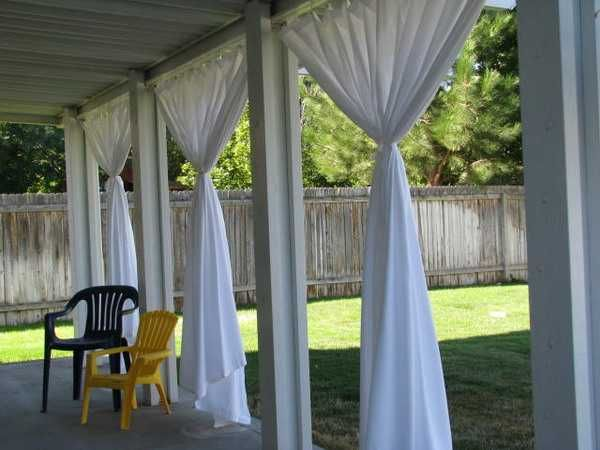 Outdoor Curtains for Porch and Patio Designs, 22 Summer Decorating .