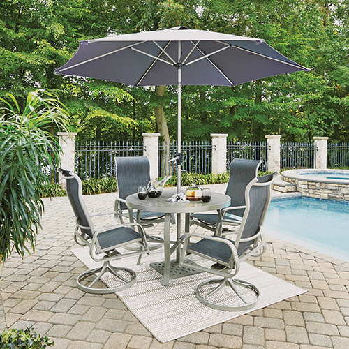 Home Styles Furniture South Beach 7 Piece Round Outdoor Dining .