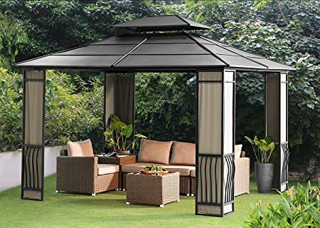 Amazon.com : Sunjoy Expand Your Outdoor Living Space with a 10 x .