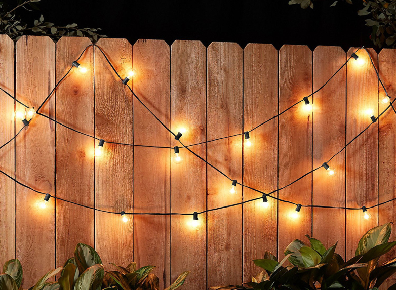 Amazon's string lights transform your patio into a wonderland for .