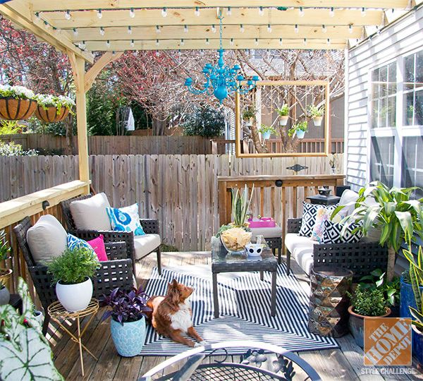 Patio Decorating Ideas: Turning a Deck into an Outdoor Living Room .
