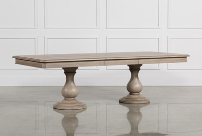 Caira Extension Pedestal Dining Table | Living Spac