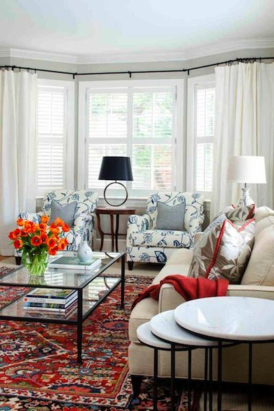 MODERN DECORATING WITH ORIENTAL RUGS   Rugs in living room, Modern .