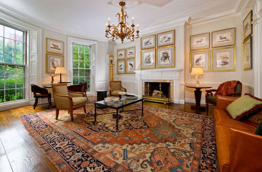 How To Decorate With Antique Ru